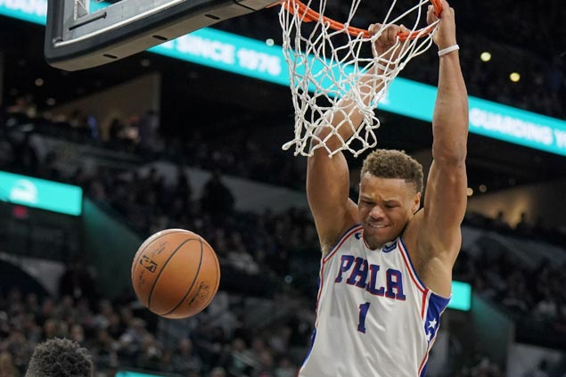 Sixers finally beat Spurs in San Antonio, end 13-game run of futility