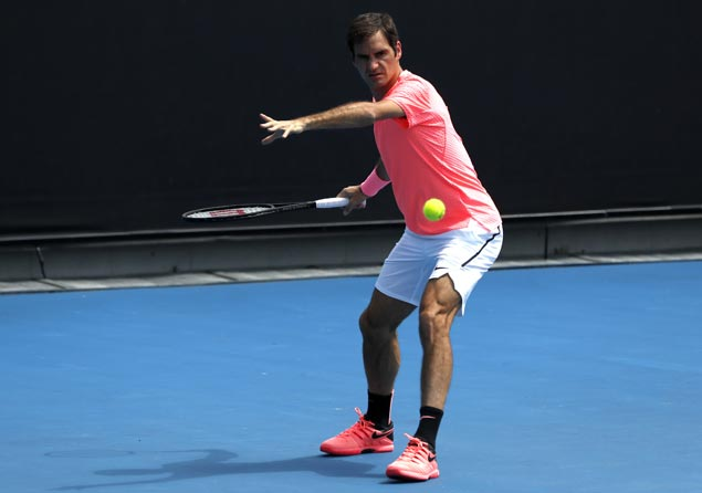 Federer yet to drop a set in six matches, but refuses to take Cilic lighty