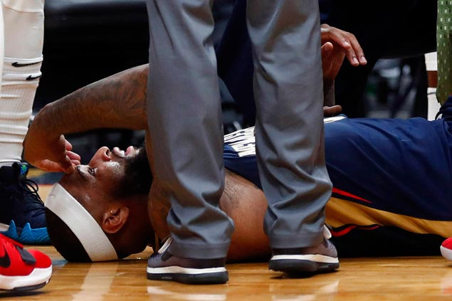 Cousins feared out for season after suffering Achilles tear in Pelicans win over Rockets