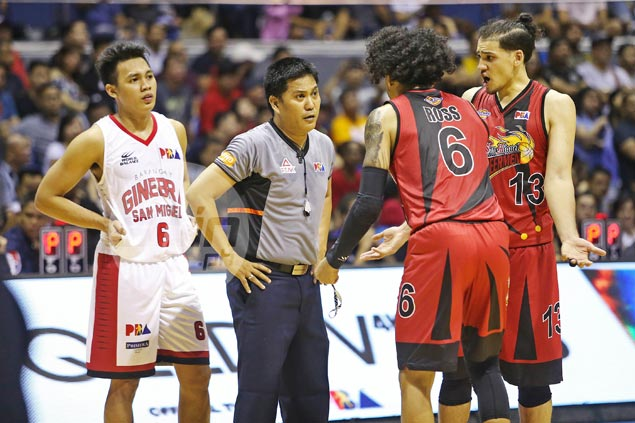 Ross, Lanete summoned as PBA weighs sanctions over free-throw brouhaha