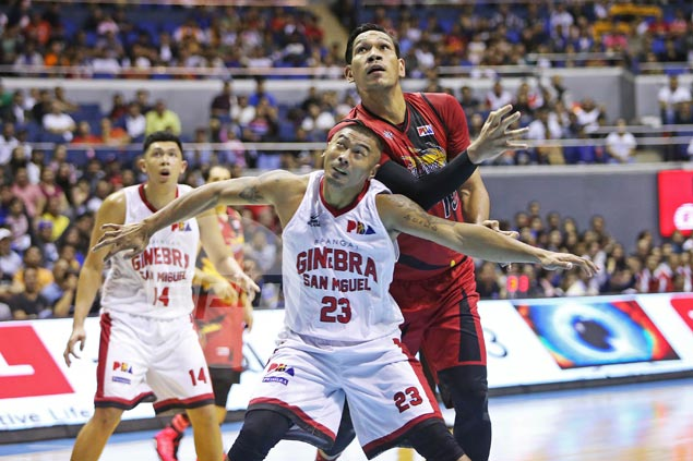 Raymond Aguilar the unlikely hero as Ginebra deals SMB first loss of season