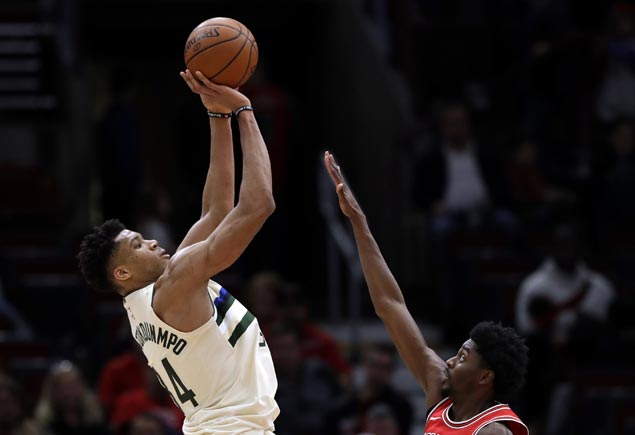 Bucks down Bulls to make it three straight wins since Jason Kidd firing