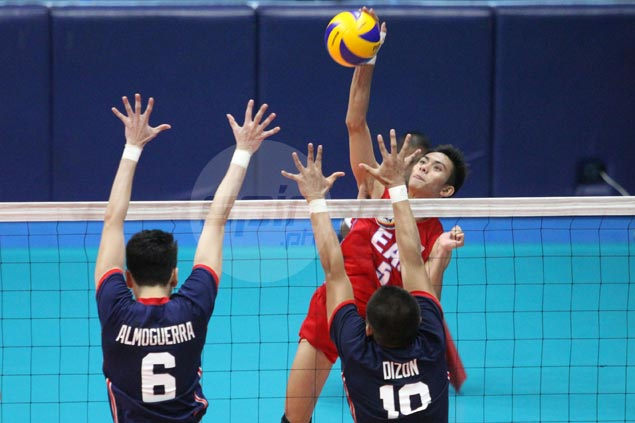EAC halts three-match skid with five-set squeaker over winless Letran
