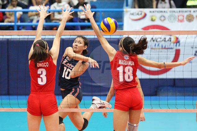 Lady Knights survive five-set match withLady Generals to get back on track