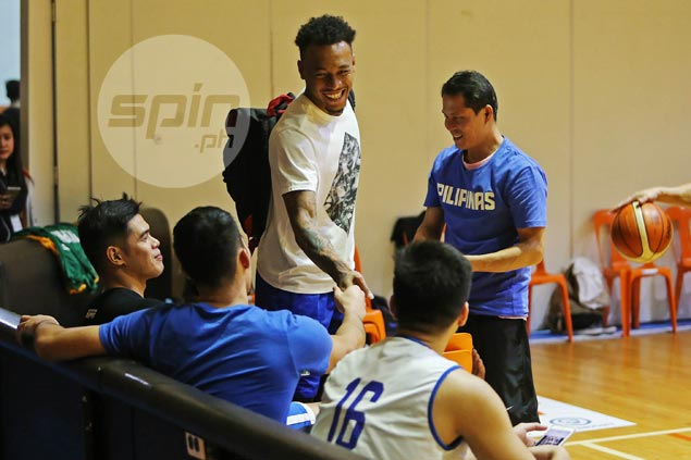 Calvin Abueva rejoins Gilas practice, a week after being dropped from pool