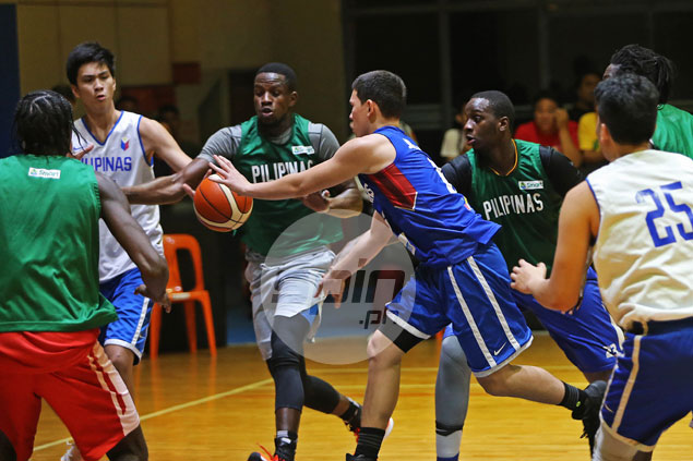 Ola Adeogun and Co. help Gilas buildup by simulating the way Aussies play
