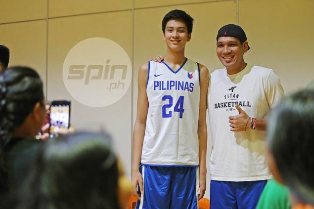 Fajardo says teen prodigy Kai Sotto is for real: 'Future s'ya ng Gilas at PBA'