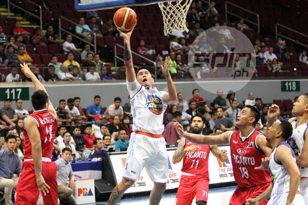 Fit-again RR Garcia comes up clutch as TNT KaTropa survives fright from Kia