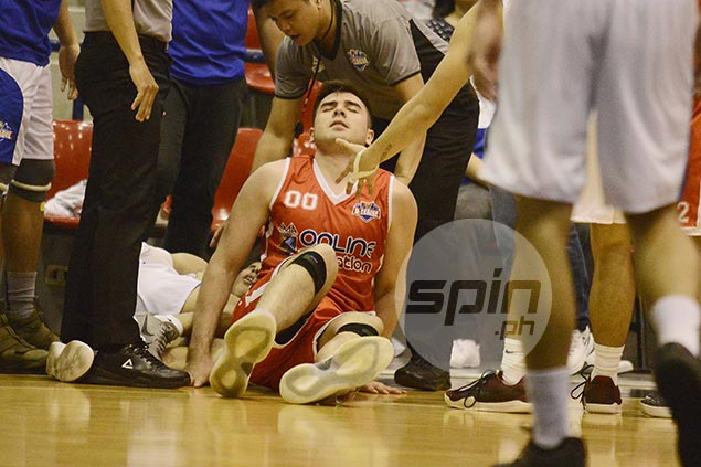 AMA coach rues bad timing of Andre Paras ankle injury