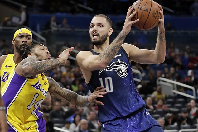 Magic ride sizzling third quarter blitz to romp over skidding Lakers