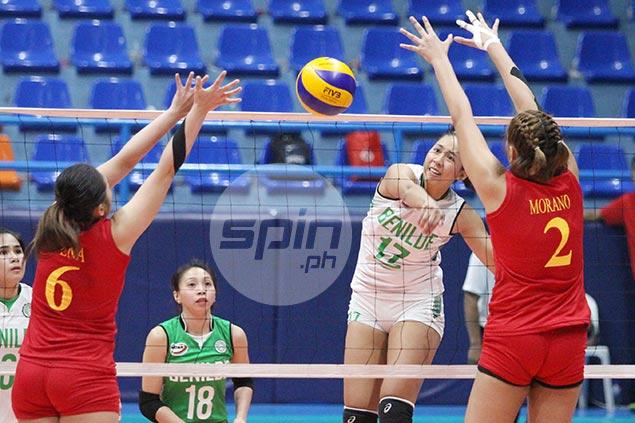 CSB wallops winless Mapua to boost semis bid in NCAA women's volleyball