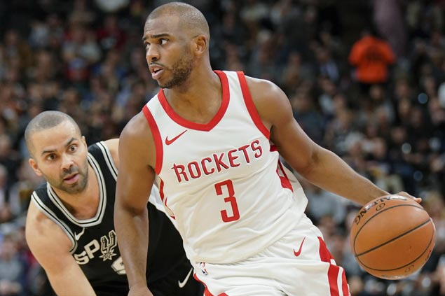 Rockets post repeat rout of Spurs and stretch streak to three