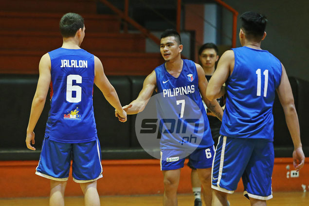 Find out why Robert Bolick wore NCAA rival Jio Jalalon's jersey in Gilas practice