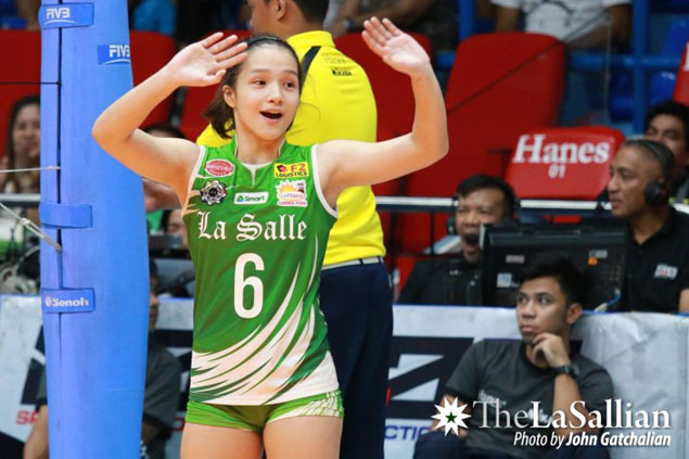 Teen Cobb draws inspiration from Fajardo as she steps into setter role at La Salle