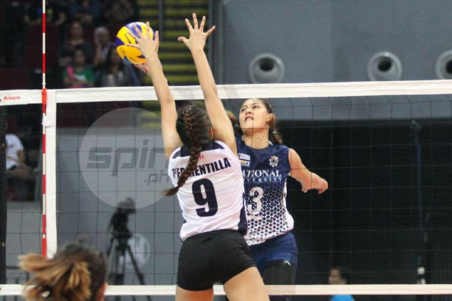 Lady Bulldogs off to fine start in UAAP women's volley with four-set win over Lady Falcons
