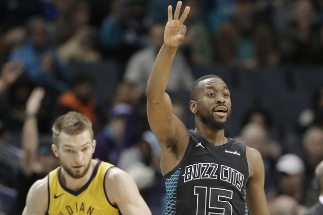 Hornets score 49 first-quarter points, Kemba winds up with 41 in big win over Pacers
