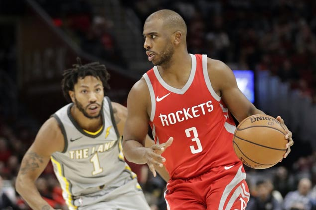 CP3, Anderson show way as balanced Rockets rout slumping Cavaliers
