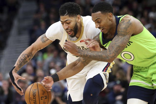 Timberwolves dominate from the start to complete season sweep of Pelicans