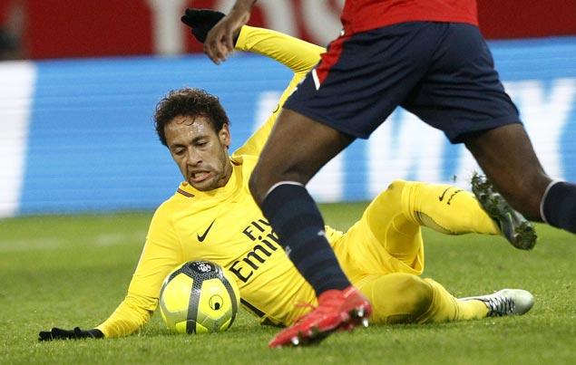 Neymar scores 18th Ligue 1 goal as Paris Saint-Germain wins at Lille