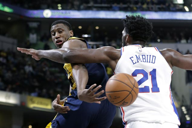 Pacers rally in fourth to beat Sixers and get back on track