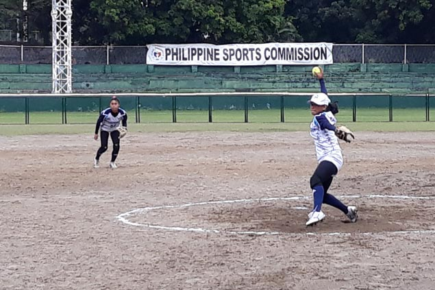 Lady Falcons score quick five-inning demolition of Lady Archers in UAAP softball