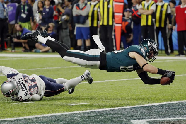 Eagles foil Patriots comeback try to win Super Bowl LII for first NFL title since 1960