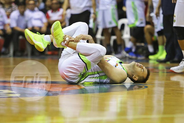 Double whammy for Globalport as Sean Anthony leaves in a wheelchair