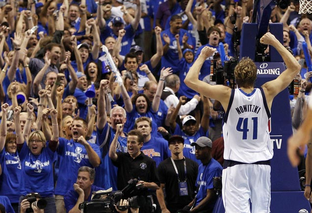 Nowitzki longevity, work ethic a source of inspiration for rebuilding Mavs