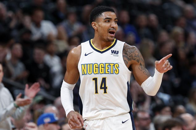 Nuggets ride huge third quarter to beat Hornets for third straight win