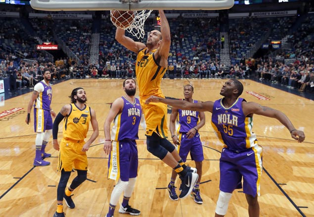 Jazz stretch win streak to six with rout of struggling Pelicans