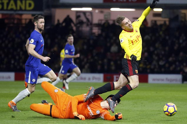 Conte future as Chelsea manager cast into further doubt as Blues get crushed by Watford