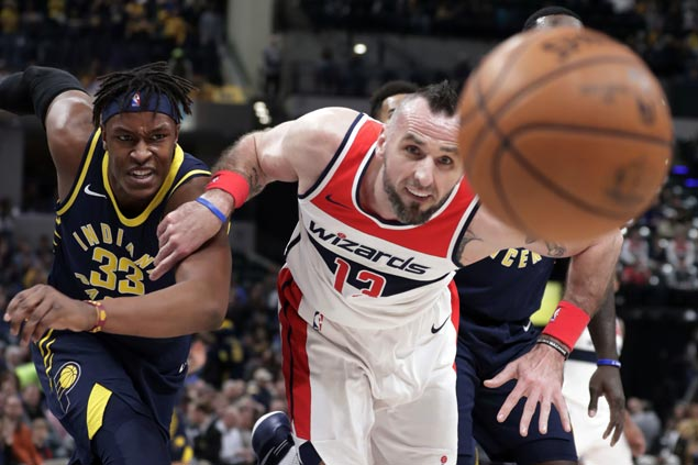 Wizards continue solid play without Wall, beat Pacers for fifth straight win