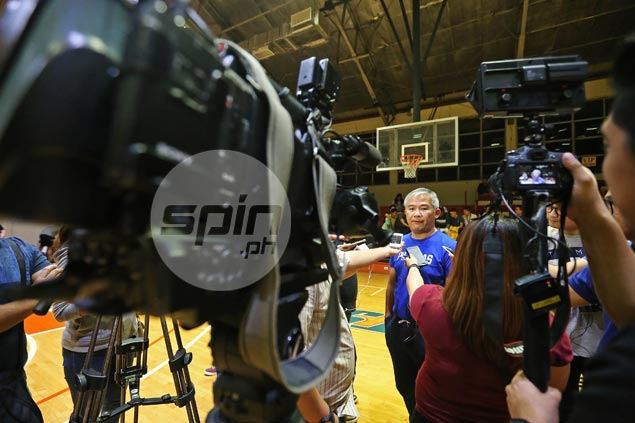 Chot Reyes on Gilas cramming anew for World Cup qualifier: 'Sanay na tayo diyan'