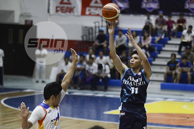 Pumaren sees 'PBA potential' in Jonathan Espeleta, but Falcons cager plays down praise