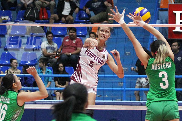 Lady Altas eliminates Lady Blazers to complete NCAA women's volley semis cast