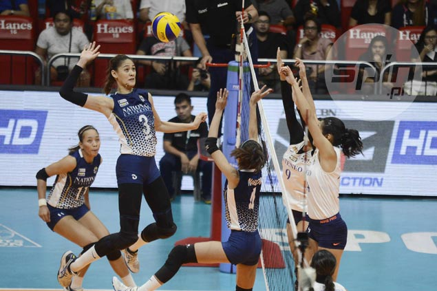 Great escape for NU Lady Bulldogs as Ateneo suffers second straight five-set loss