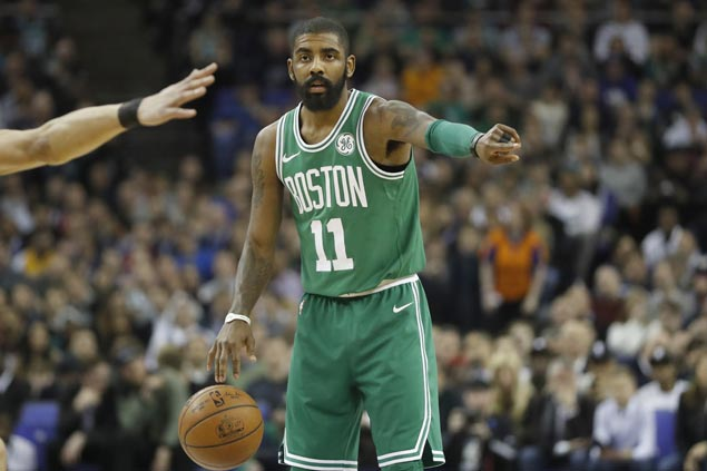 Kyrie Irving returns from injury as Celtics face Raptors in battle of East leaders