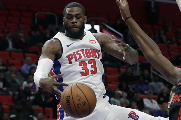 Pistons center Willie Reed suspended six games over domestic violence charge