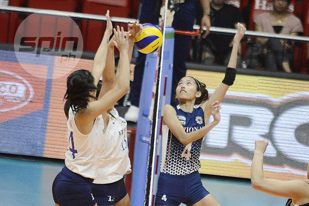Nabor shows off new weapon as NU setter's service aces help finish off Ateneo