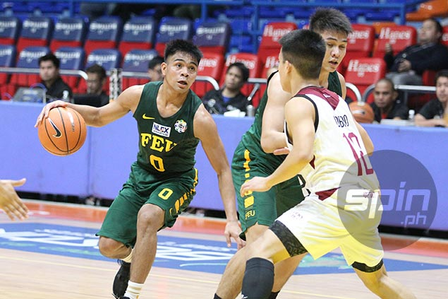 Baby Tams guard L-Jay Gonzales says he is staying at FEU, already training with Tamaraws