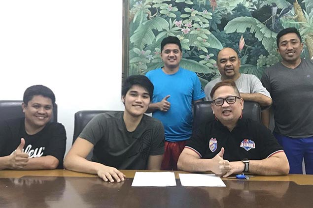AMA continues to bolster roster, signs FEU standout Arvin Tolentino