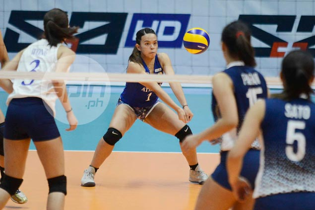Dani Ravena hard on herself after UAAP seniors debut with Ateneo Lady Eagles