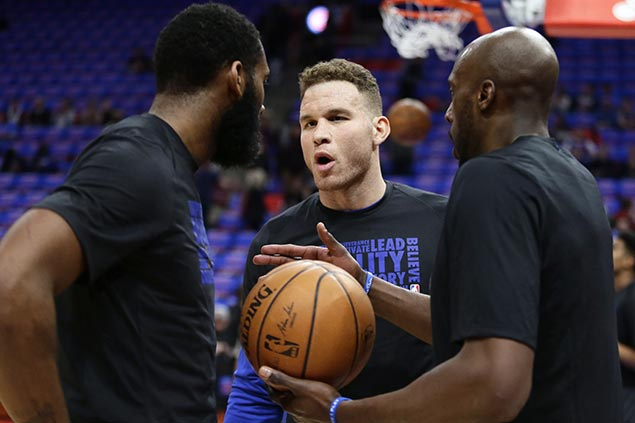 Pistons new boy Griffin says first meeting with former team Clippers no ordinary game