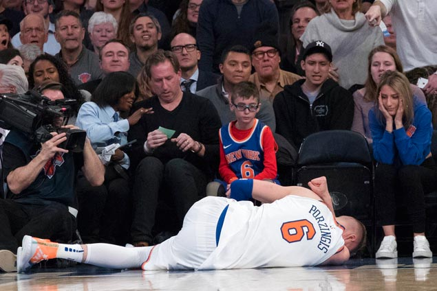 With a rich payout looming, Poor-zingis tears ACL