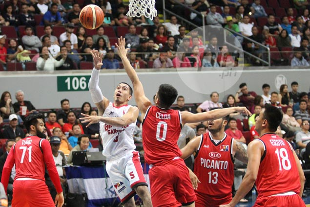 As far as LA Tenorio and Ginebra are concerned, PBA playoffs have started already