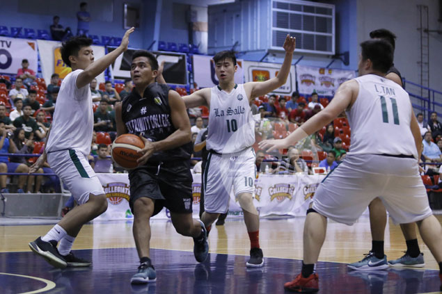 Mindanao-based HTC Wildcats dominate a La Salle side without its top players