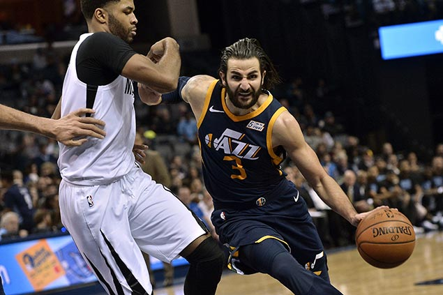 Ricky Rubio shines as Jazz hold off Grizzlies to extend win run to seven
