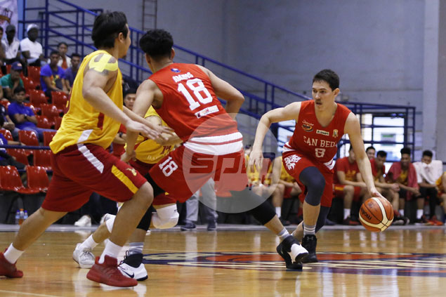 Bolick, Soberano come up clutch as Red Lions nip Stags in PCCL