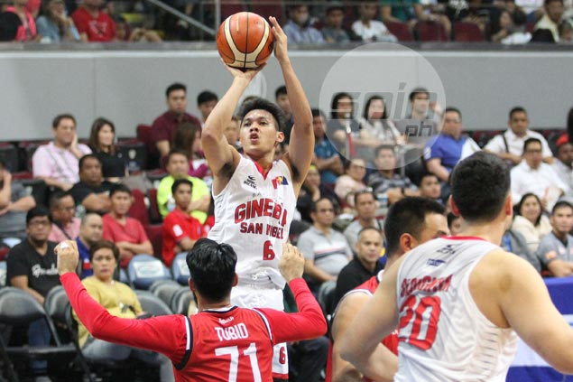 Do-it-all Scottie Thompson already on playoff mode as Ginebra steps on the gas