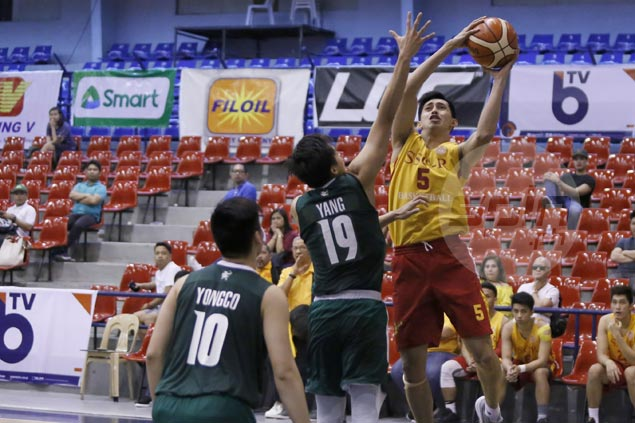 San Sebastian evens record, keeps La Salle winless in PCCL